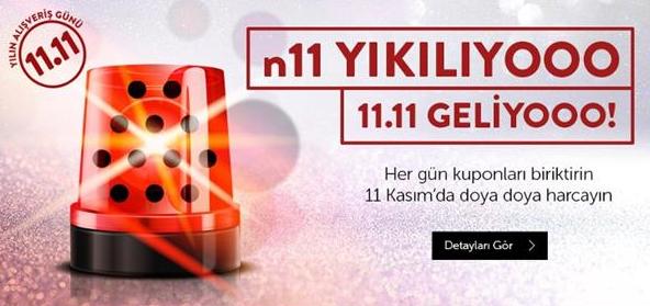11.11.2018 gecesi n11.com hakikaten yıkıldı :)