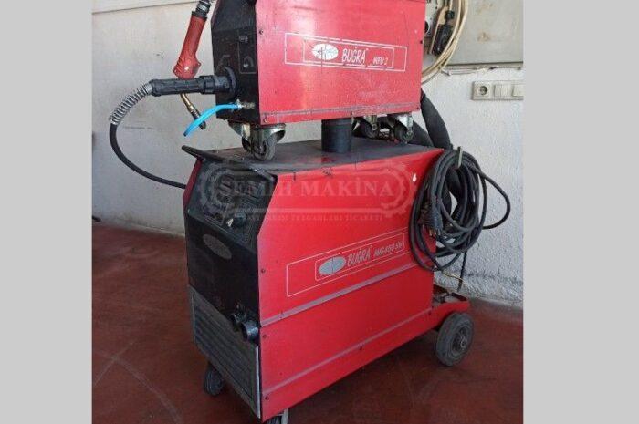 450 amper çantalı su soğutmalı gaz altı kaynak makinesi