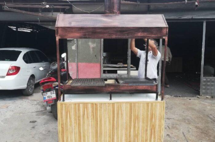 2.el kokoreç köfte sucuk arabaları tezgahları